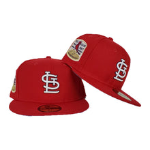 Load image into Gallery viewer, St. Louis Cardinals Red Icy Blue Bottom 1967 World Series New Era 59Fifty Fitted