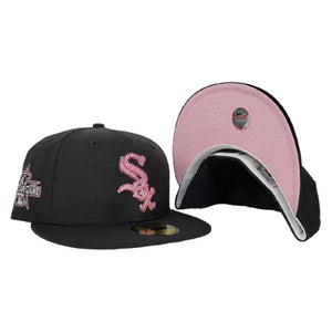 Swarovski Crystal Chicago White Sox Black Pink Bottom 2010 All Star Game New Era 59Fifty Fitted