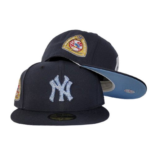 Swarovski Crystal New York Yankees Navy Icy Blue Bottom 1950 World Series New Era 59Fifty Fitted