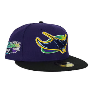 TAMPA BAY DEVIL RAYS INAUGURAL SEASONS NEW ERA 59FIFTY FITTED HAT