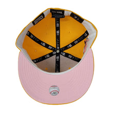 Load image into Gallery viewer, Taxi Yellow Boston Red Sox Pink Bottom 1999 All Star Game New Era 59Fifty Fitted