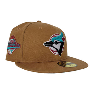 Toronto Blue Jays Light Bronze Vice Blue Bottom 1992 World Series Patch New Era 59Fifty Fitted