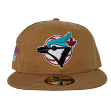 Load image into Gallery viewer, Toronto Blue Jays Light Bronze Vice Blue Bottom 1992 World Series Patch New Era 59Fifty Fitted