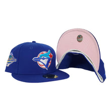 Load image into Gallery viewer, Toronto Blue Jays Royal Icy Blue Bottom 1992 World Series New Era 59Fifty Fitted Hat