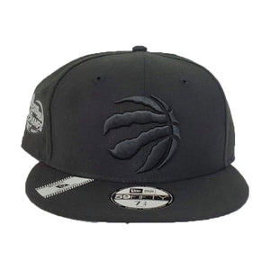 Toronto Raptors Black Reflective 2019 Champs New Era 59Fifty Fitted Hat