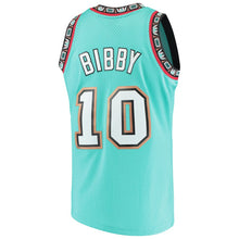 Load image into Gallery viewer, Vancouver Grizzlies 1999-99 Mike Bibby Mitchell & Ness Teal Swingman Jersey