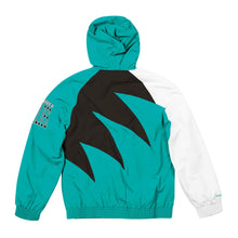 Load image into Gallery viewer, Vancouver Grizzlies Mitchell & Ness Shark Tooth Full-Zip Jacket – Teal