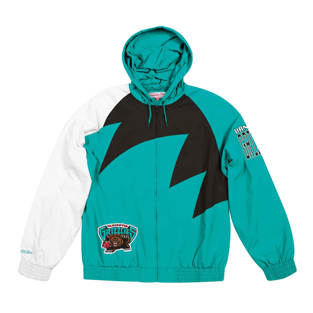 Vancouver Grizzlies Mitchell & Ness Shark Tooth Full-Zip Jacket – Teal