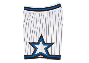 White Orlando Magic Mitchell & Ness NBA Men's Authentic NBA Shorts