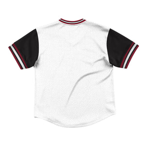 Mitchell & Ness Top Prospect Mesh V-Neck Chicago Bulls Jersey