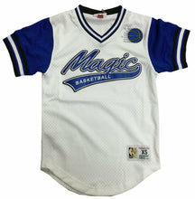 Load image into Gallery viewer, Mitchell & Ness Top Prospect Mesh V-Neck Las Vegas Raiders Jersey