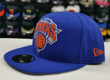 Load image into Gallery viewer, Exclusive New Era NBA Team Color ROYAL BLUE New York Knicks 9Fifty Snapback Hat