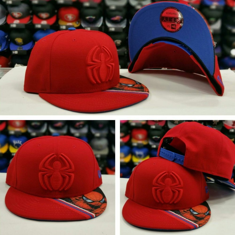 The Amazing Spider-Man 9Fifty Snapback Marvel Comics New Era Hat MED-LG NWT 0317