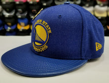 Load image into Gallery viewer, Exclusive New Era NBA 59Fifty Warriors 4X Pin trophy Championship fitted Hat Cap