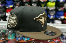 Load image into Gallery viewer, Exclusive New Era MLB Toronto Blue Jays 9Fifty snapback Hat Black Brown