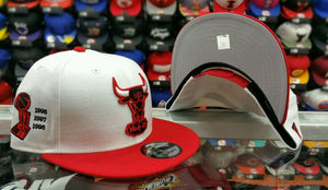 Matching New Era NBA Chicago Bulls snapback for Jordan 12 Jim red