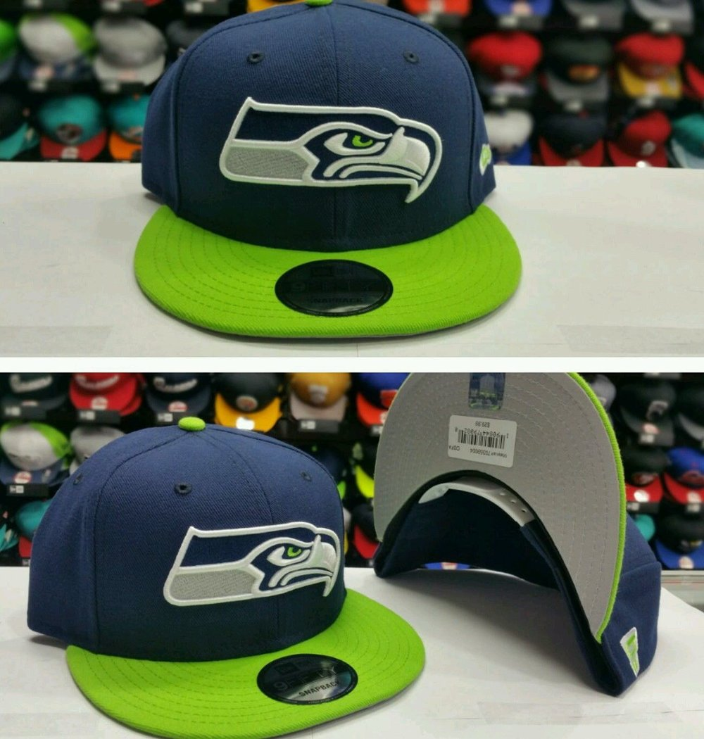 Exclusive NFL New Era New Seattle SeaHawks Snapback 9Fifty Snapback Hat Cap