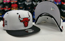 Load image into Gallery viewer, Matching New Era NBA Chicago Bulls 9Fifty Snapback for Jordan 8 ALTERNATE Hat
