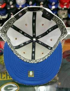 Matching New Era Chicago Bulls 5950 fitted hat for Jordan 3 True Blue