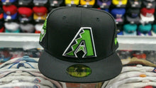 Load image into Gallery viewer, Matching New Era 59Fifty Arizona D-Back fitted hat for Jordan retro 14 black indigo