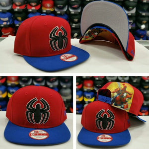 The Amazing Spider-Man Snapback Marvel Comics New Era Hat MED-LG NWT 0317