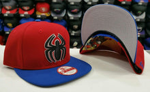 Load image into Gallery viewer, The Amazing Spider-Man Snapback Marvel Comics New Era Hat MED-LG NWT 0317