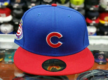 Load image into Gallery viewer, Chicago Cubs New Era 1962 All Star Game Side Patch 59Fifty fitted hat