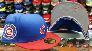 Chicago Cubs New Era 1962 All Star Game Side Patch 59Fifty fitted hat