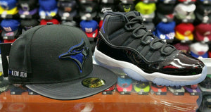 Matching New Era MLB Toronto Blue Jays Fitted Hat For Air Jordan 11 Space Jam