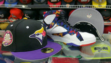Load image into Gallery viewer, Matching New Era Toronto Blue Jays 5950 fitted Jordan 7 Sweater Nothing But Net