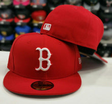 Load image into Gallery viewer, New Era 59Fifty NEW Boston Red Sox RED Men's Fitted MLB Hat