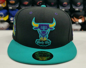 Matching New Era Chicago Bulls 59Fifty fitted hat for Jordan 7 Lola Bunny