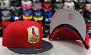 Exclusive New Era MLB Team Colors St. Louis Cardinals snapback