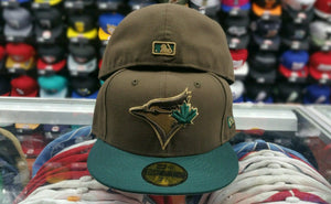 Matching New Era Toronto Blue Jays Fitted hat Timberland boot beef broccoli