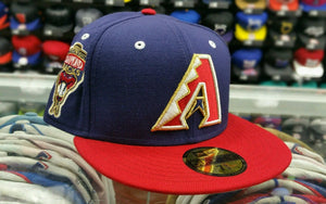 Matching New Era Arizona Dback fitted hat Jordan 7 Olympic Tinker Alternate