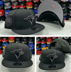 Exclusive New Era MLB Black Toronto Blue Jays 9Fifty snapback Hat