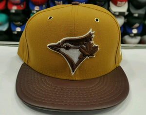 Matching New Era Toronto Blue Jays 59Fifty fitted hat for Timberland Tan & Brown