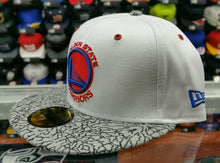 Load image into Gallery viewer, Matching New Era NBA Golden State Warriors fitted hat for Jordan 3 True Blue