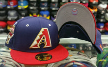 Load image into Gallery viewer, Matching New Era Arizona Dback fitted hat Jordan 7 Olympic Tinker Alternate