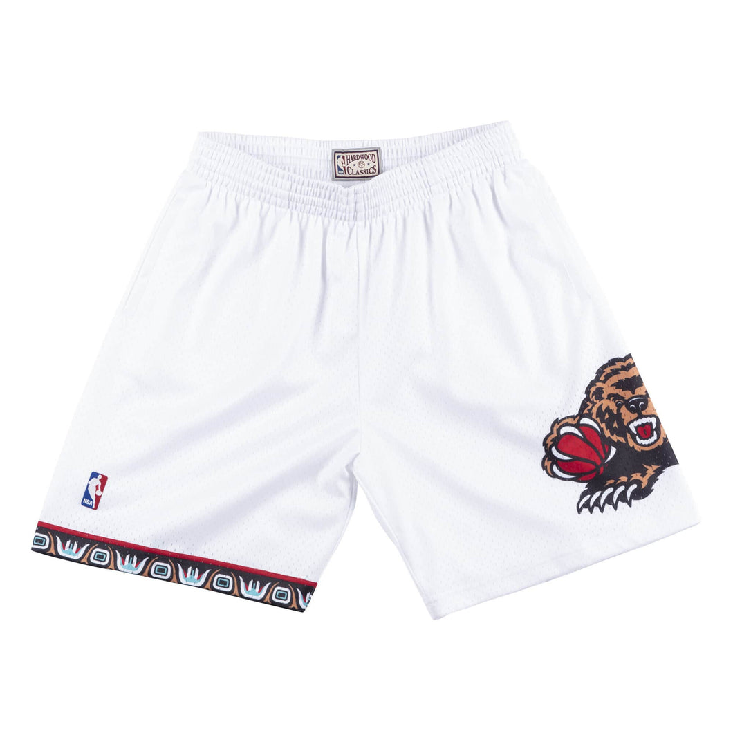 Vancouver Grizzlies 1998 -99 Mitchell & Ness White Swingman Shorts