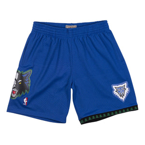 Minnesota Timberwolves 2003- 04 Mitchell & Ness Swingman Shorts