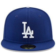 Load image into Gallery viewer, Los Angeles Dodgers New Era Royal 2018 World Series Side Patch 59FIFTY Fitted Hat