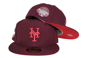 MAROON NEW YORK METS INFRARED BOTTOM 2013 ALL STAR GAME NEW ERA 59FIFTY FITTED