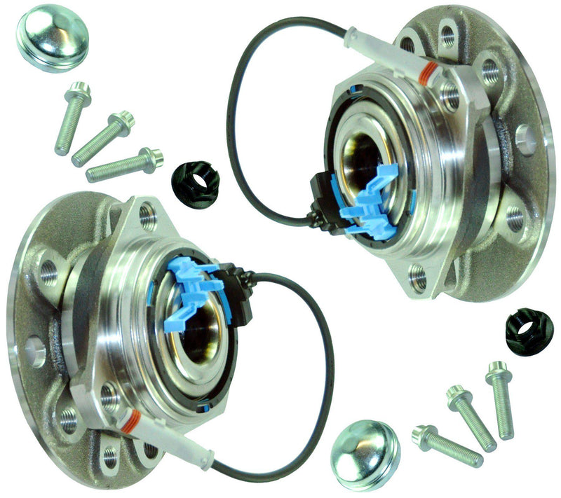 Front (Left +Right Pair) Wheel Bearing + Abs For Opel-Vauxhall/Lotus-D2P Autoparts