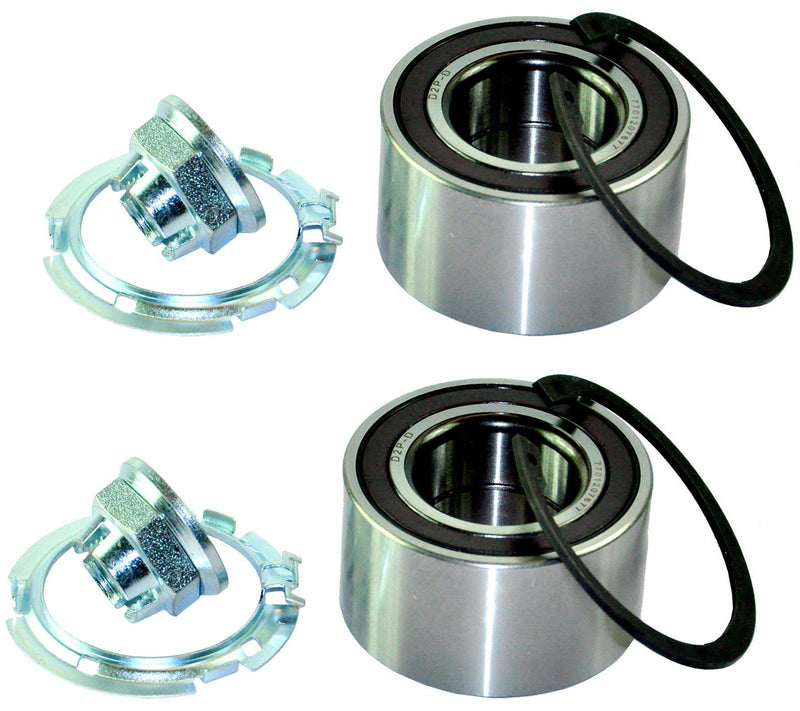 Front (Left +Right Pair) Wheel Bearing Hub Kit For Dacia/Smart/Renault/Nissan/Mercedes-D2P Autoparts