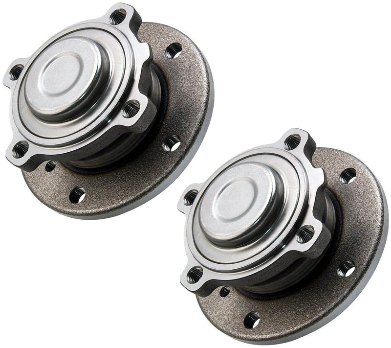 Front Left & Right Pair Wheel Bearings Hub For Bmw-D2P Autoparts