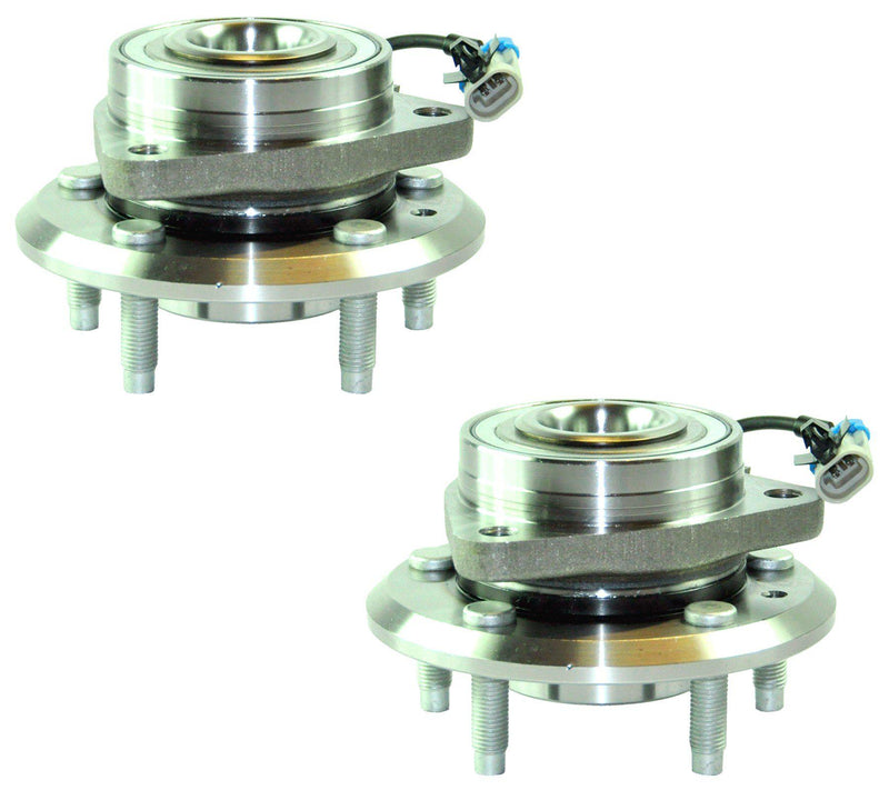 Front Left +Right Wheel Bearing Hub Pair + Abs Sensor For Chevrolet/Opel-Vauxhall-D2P Autoparts