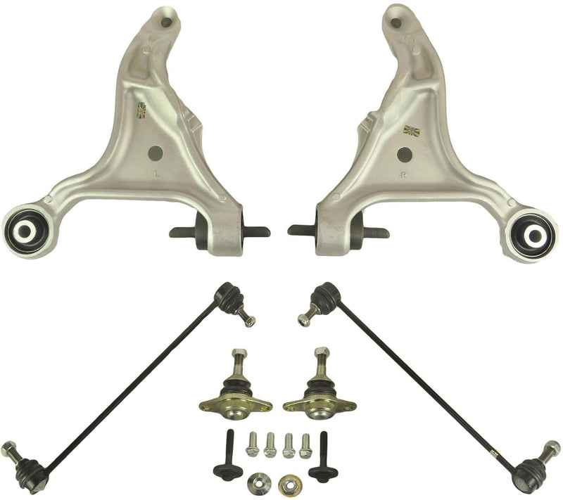 Front Lower Suspension Track Control Arms Pair (Lh & Rh) For Volvo S60-D2P Autoparts
