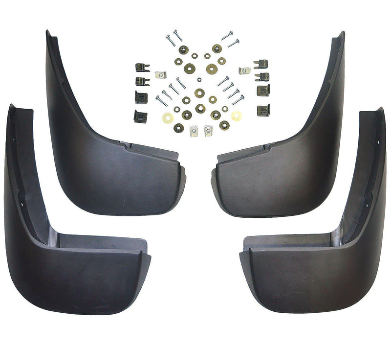 Front & Rear Mud Flaps X4 Left & Right For Range Rover-D2P Autoparts