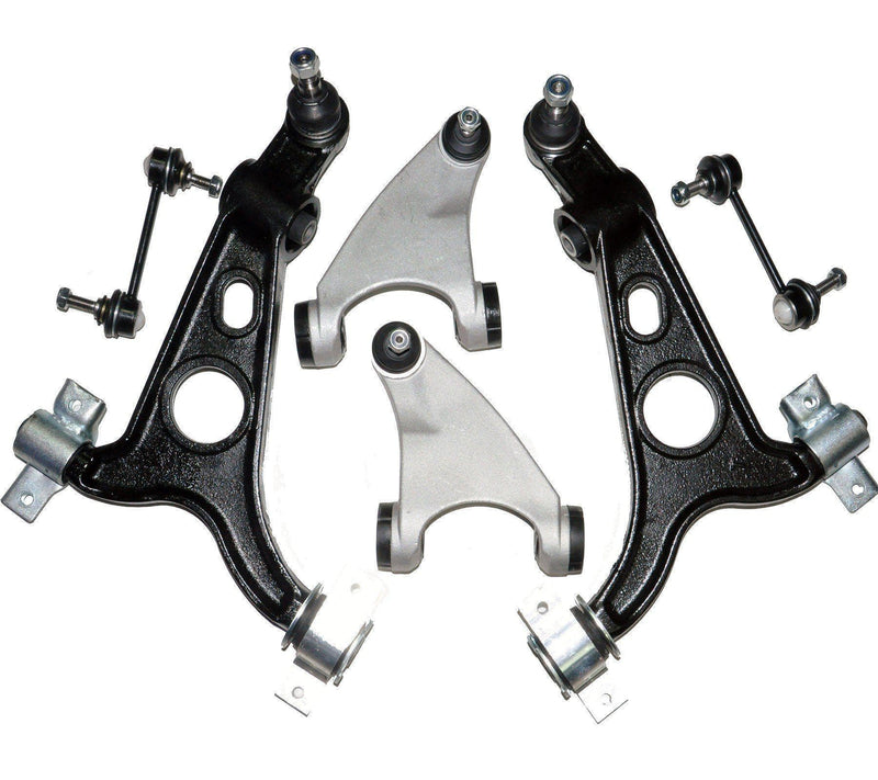 Front Suspension Wishbone Track Control Arms Kit (Left & Right Sides) For Alfa Romeo-D2P Autoparts